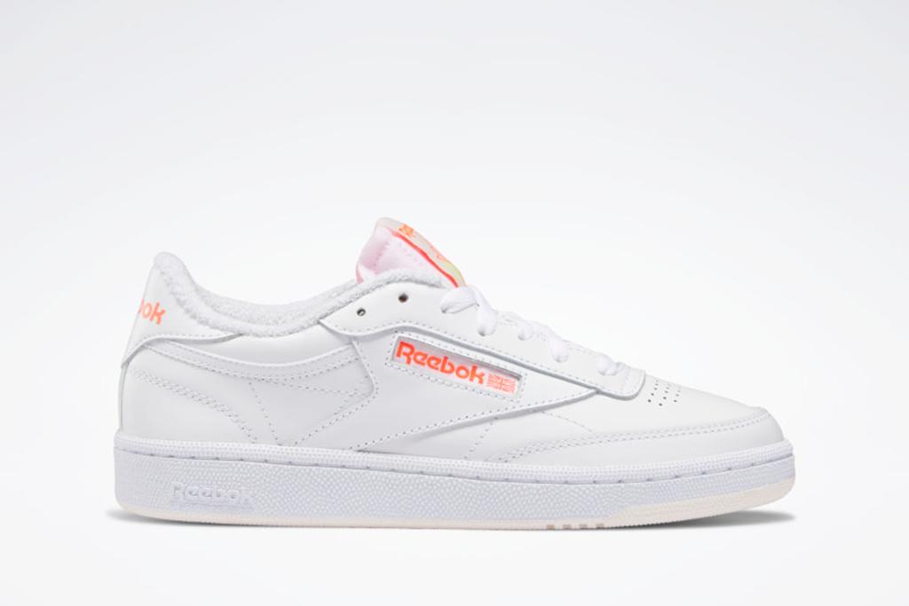 reebok club c sneaker, club c 85, white sneakers