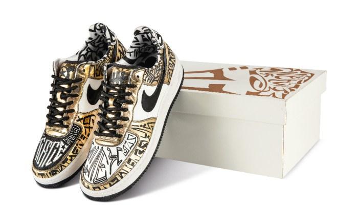 Nike Air Force 1 Entourage x Undefeated x Fukijama Gold