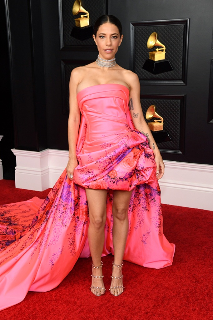 LOS ANGELES, CALIFORNIA - MARCH 14: Debi Nova attends the 63rd Annual GRAMMY Awards at Los Angeles Convention Center on March 14, 2021 in Los Angeles, California. (Photo by Kevin Mazur/Getty Images for The Recording Academy )