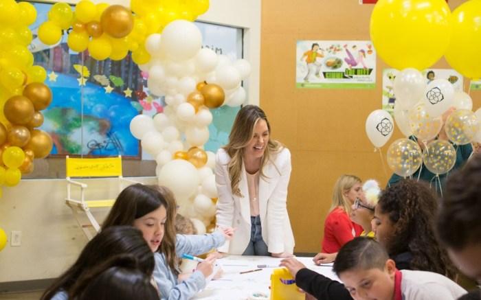 Kendra Scott participating in her philanthropic initiatives