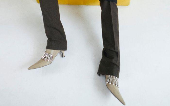 jil sander, craziest shoes at pfw, fall 2021 pfw