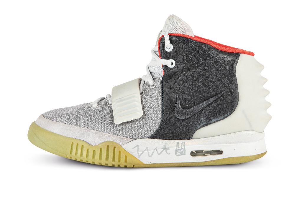 "Nike Air Yeezy 2 ""Mismatch"" Sample"