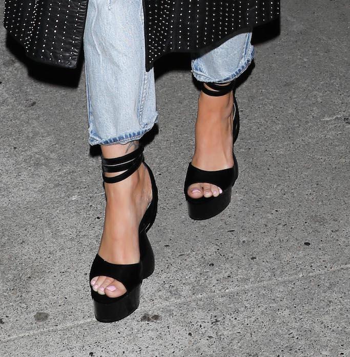 Megan Fox, Tom Ford, Disco Platform Sandals