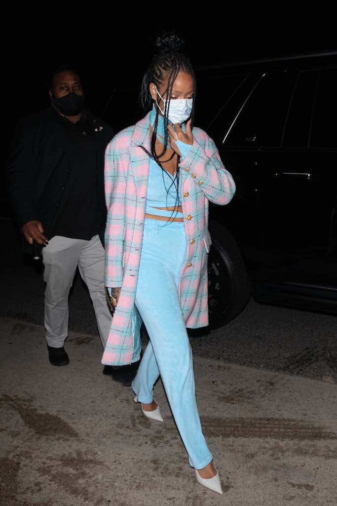 Rihanna, Amina Muaddi