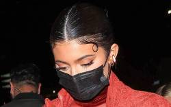 Kylie Jenner attends Justin Bieber's album