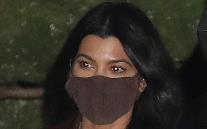 Kourtney Kardashian and Travis Barker grab dinner at Nobu Malibu