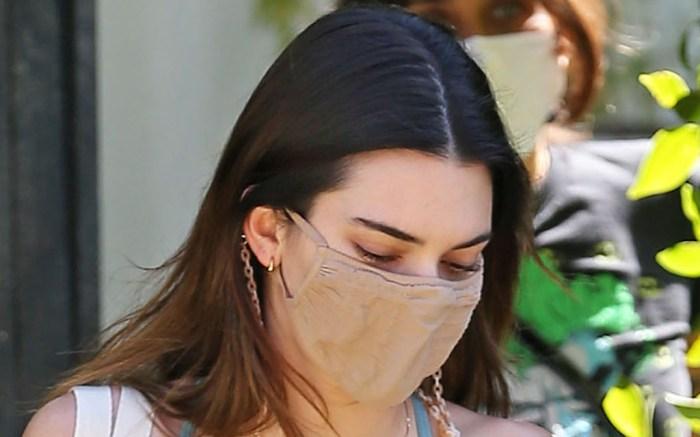 Kendall Jenner seen leaving Pilates