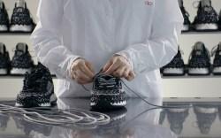 valentino crochet sneaker, mastery series, designer