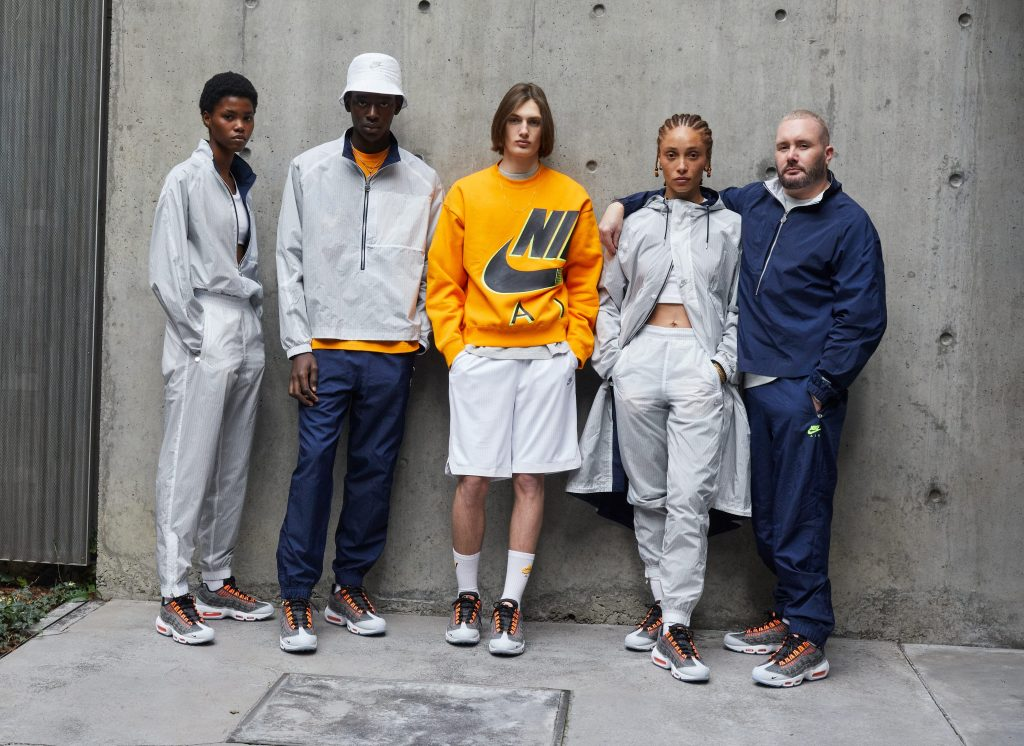 Kim Jones x Nike Air Max 95 'Total Orange' Collection