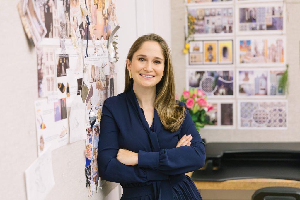 Sarah Flint, founder, designer and CEO of Sarah Flint