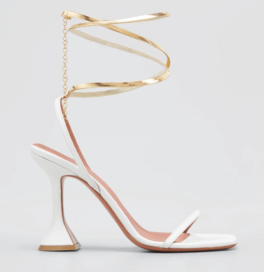 amina muaddi, henson, heels, sandals
