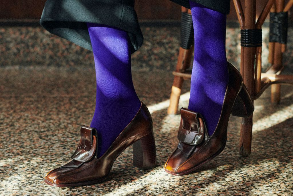 tory burch, tory burch fall 2021, fall 2021, nyfw, fall 2021 trends, fashion, tory burch shoes, shoes, fall winter
