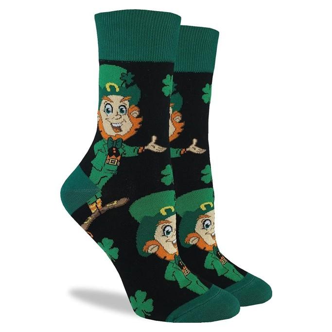 green socks, st. patrick's day socks