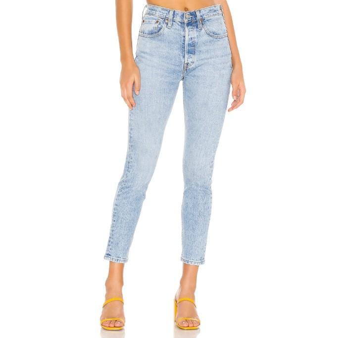 levi's 501 skinny jeans, revolve anniversary sale