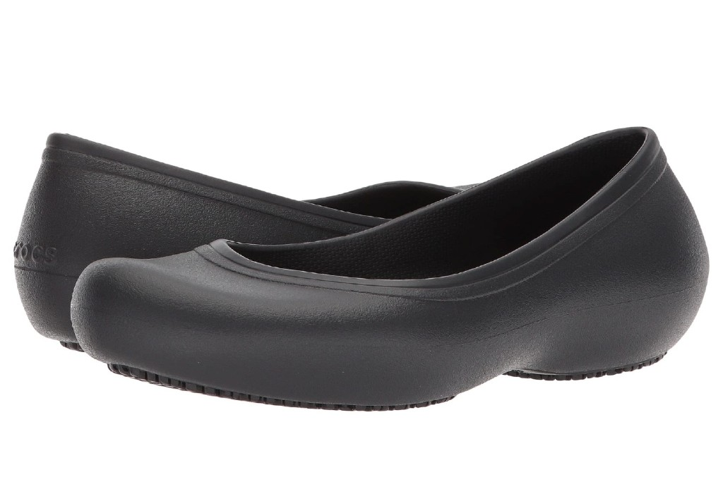 crocs at work flat, flats with arch support
