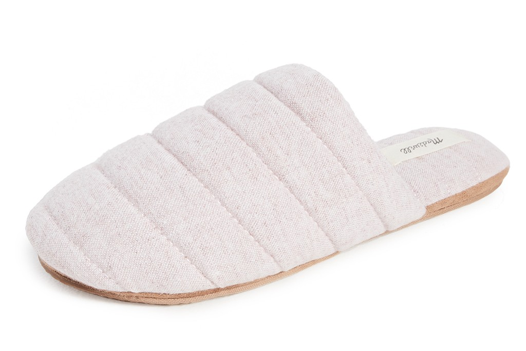 madewell quilted puffy slipper, house shoes for women