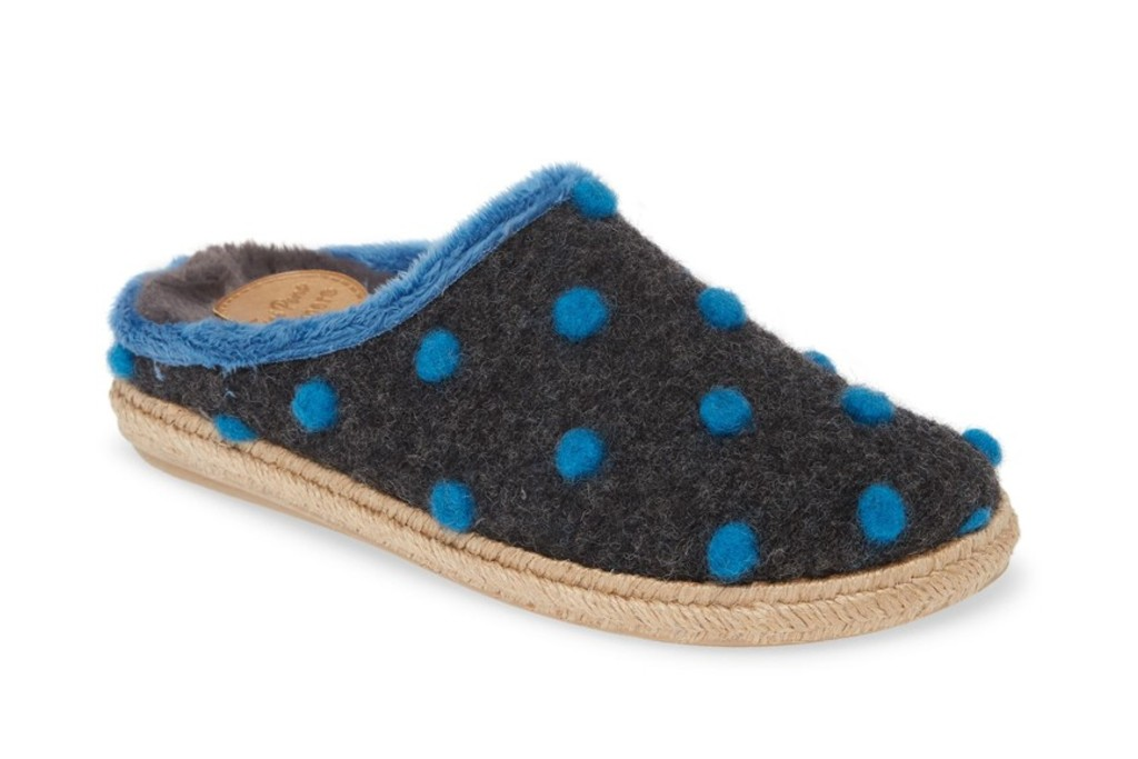 Toni Pons Miri Faux Fur Lined Scuff Slipper, house shoes for women