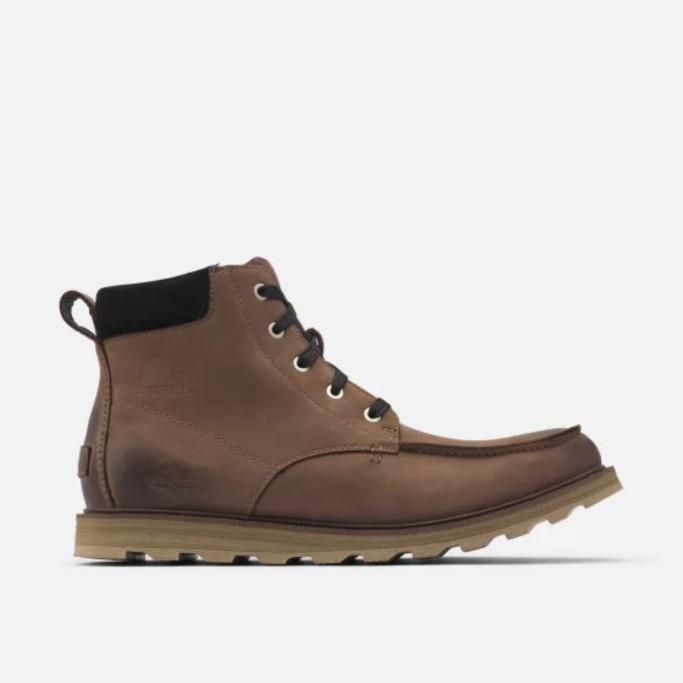 Sorel's Madson Moc Toe Boot, sorel men's boots on sale