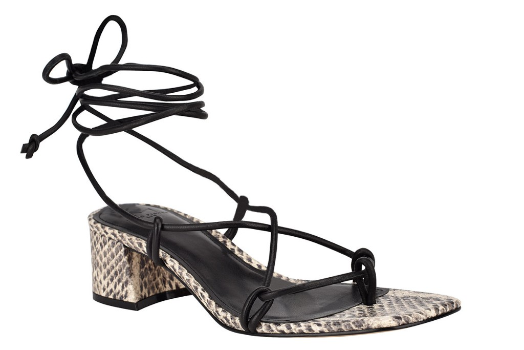 Marc Fisher LTD Jacinda Ankle-Tie Sandals, spring sandals