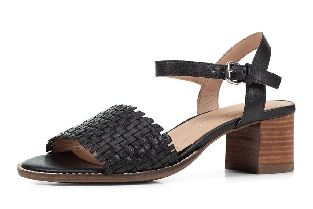 Geox Woven Leather Ankle-Strap Sandals, spring sandals