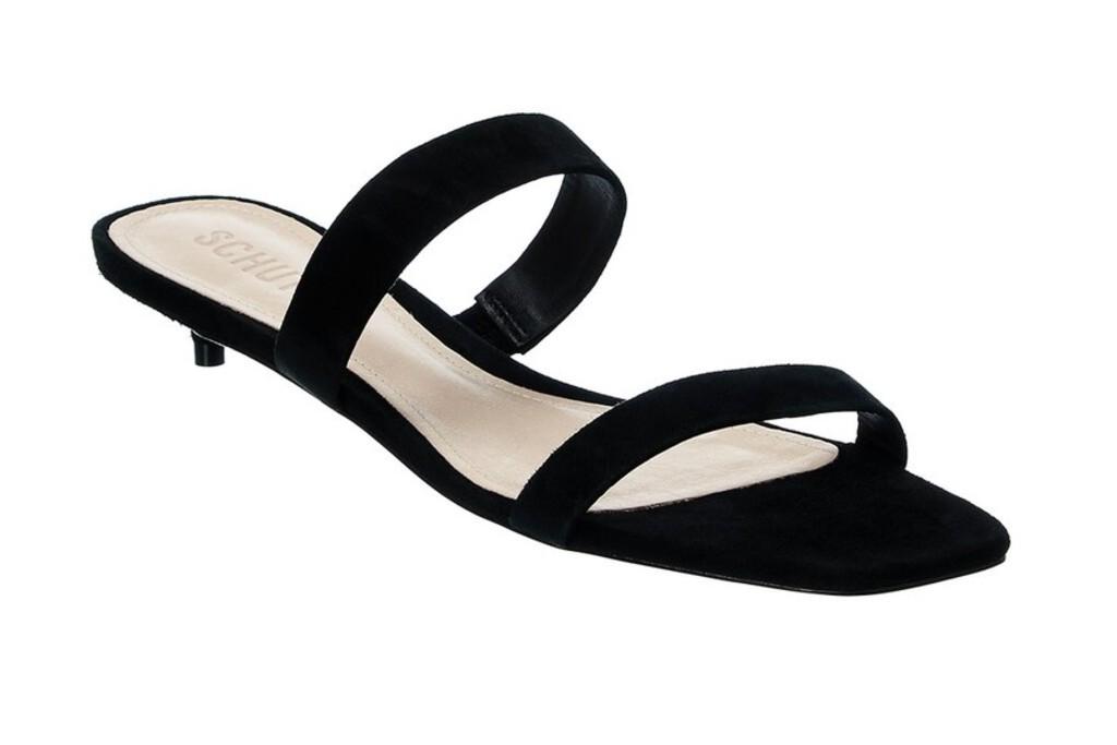 Heidi Suede Kitten Heeled Sandals, kitten heels