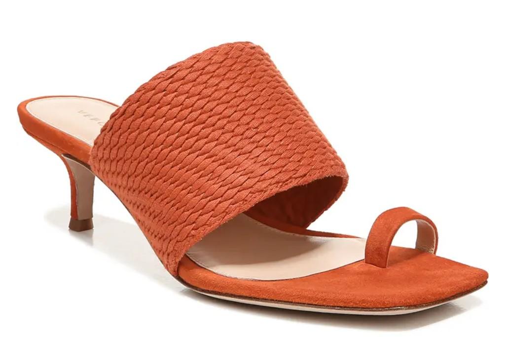 Veronica Beard Crenn Toe Loop Sandal, spring sandal trend