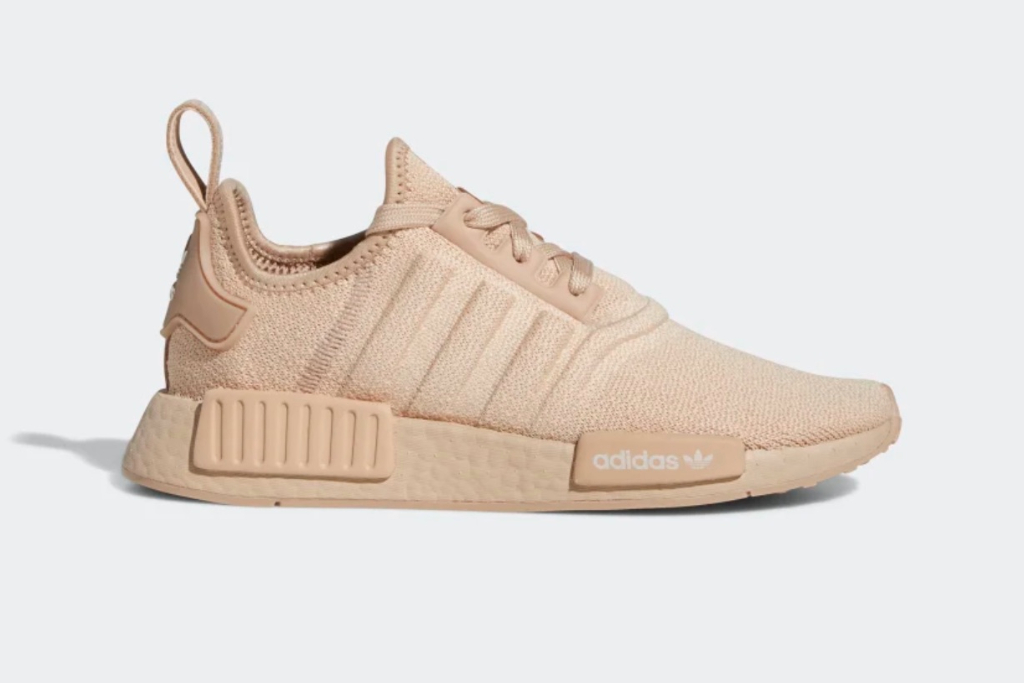 Adidas NMD R1 Shoes in Ash Pearl