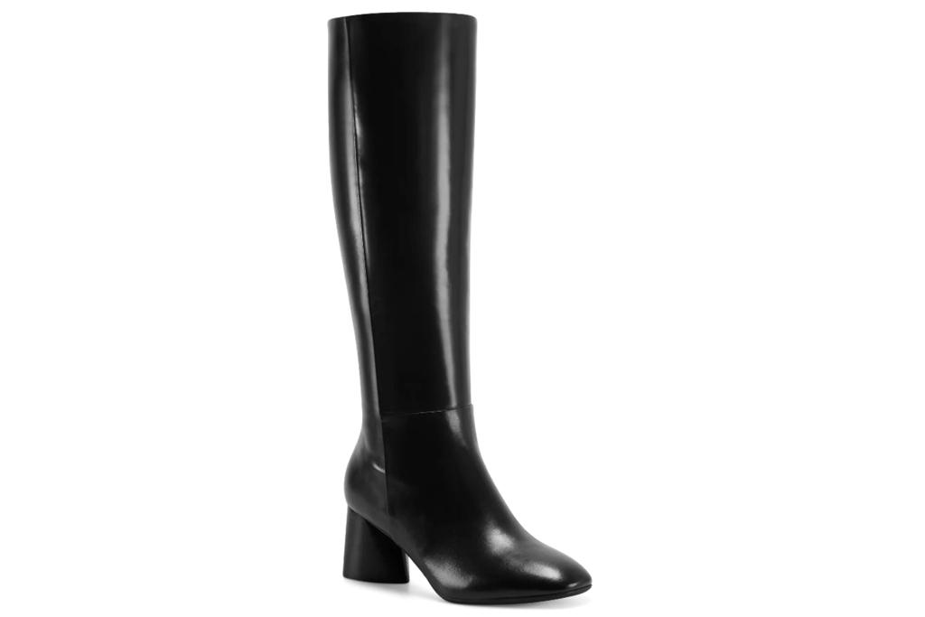 knee high boots, black, aerosoles