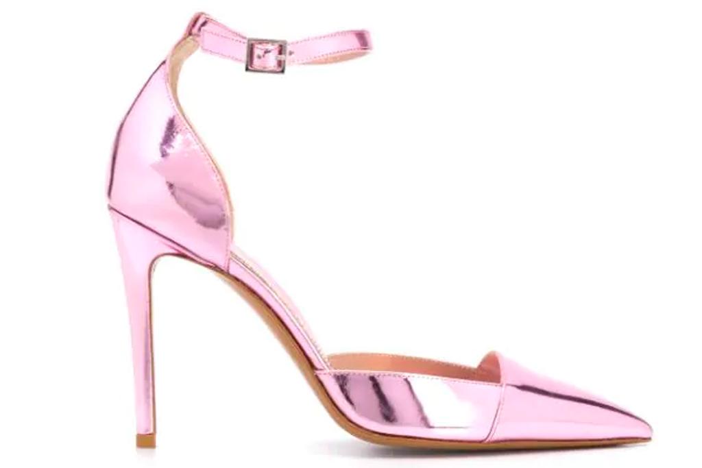 alexandre vauthier, pink heels, pumps