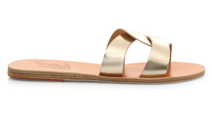 ancient greek sandals, saks friends and family sale