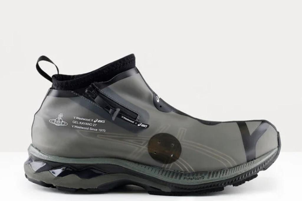 vivienne westwood x asics, vivienne westwood sneaker, black sneakers