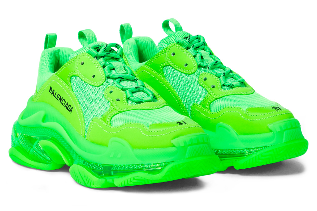 balenciaga, sneakers, triple s