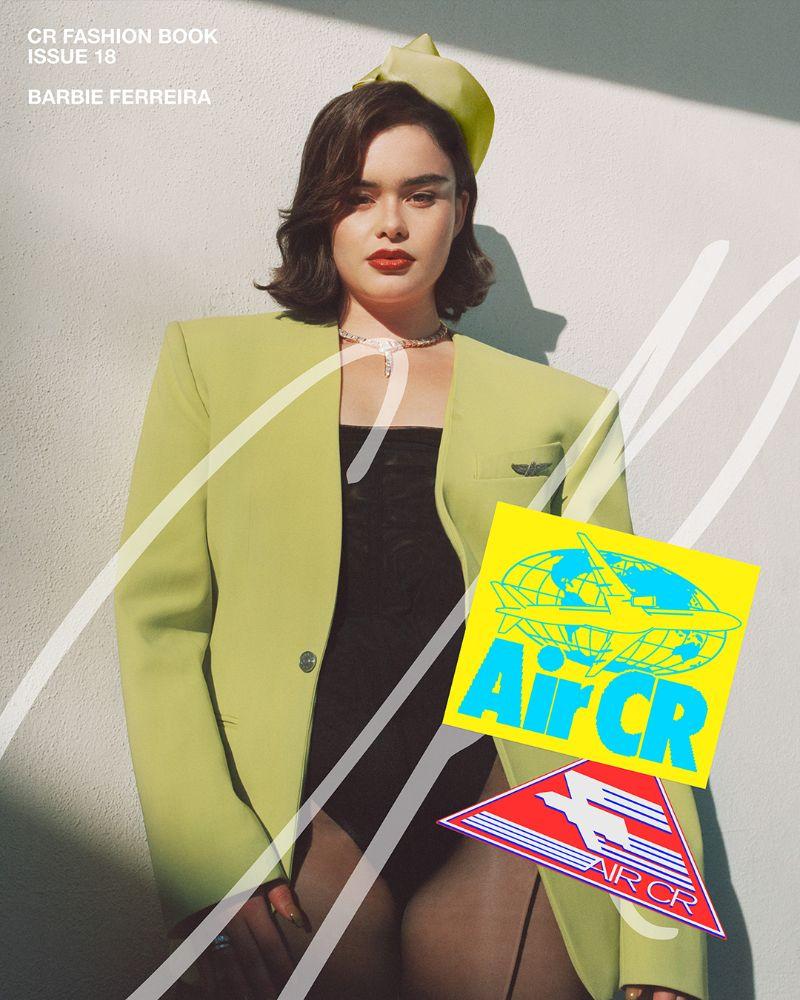 cr fashion book, dress, shoes, model, barbie ferreira