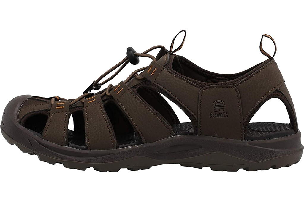 best hiking sandals for men, kamik byronbay sandals, closed toe hiking sandals