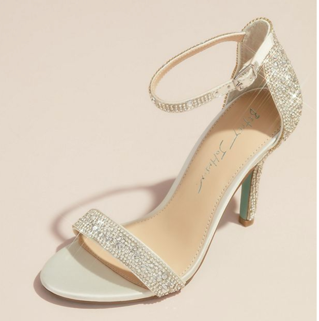 betsey johnson, david's bridal, wedding shoes, affordable, bridal shoes, heels, sneakers, flats
