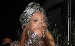 beyoncé, glittering dress, corset, dress, grammy
