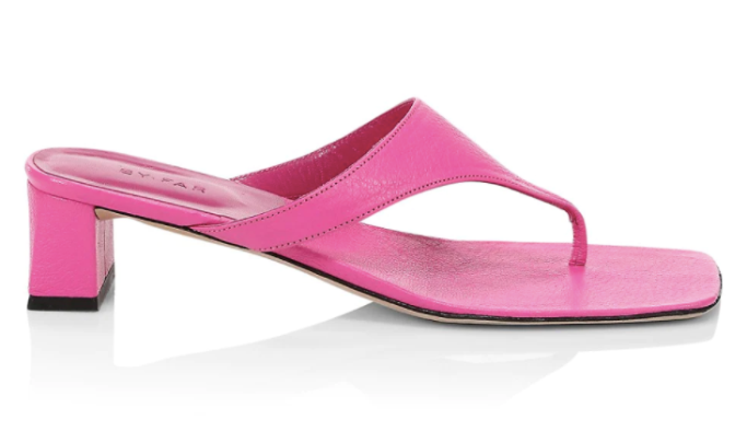 by far thong sandals, saks friends and family sale