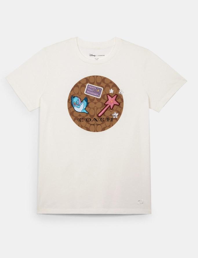 Disney x Coach Signature Princess Patches T-Shirt