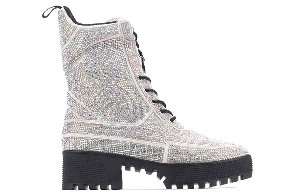 boots, combat boots, glitter, cape robbin