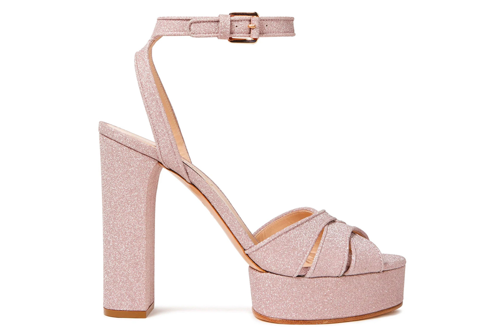 platform sandals, pink, heels, casadei