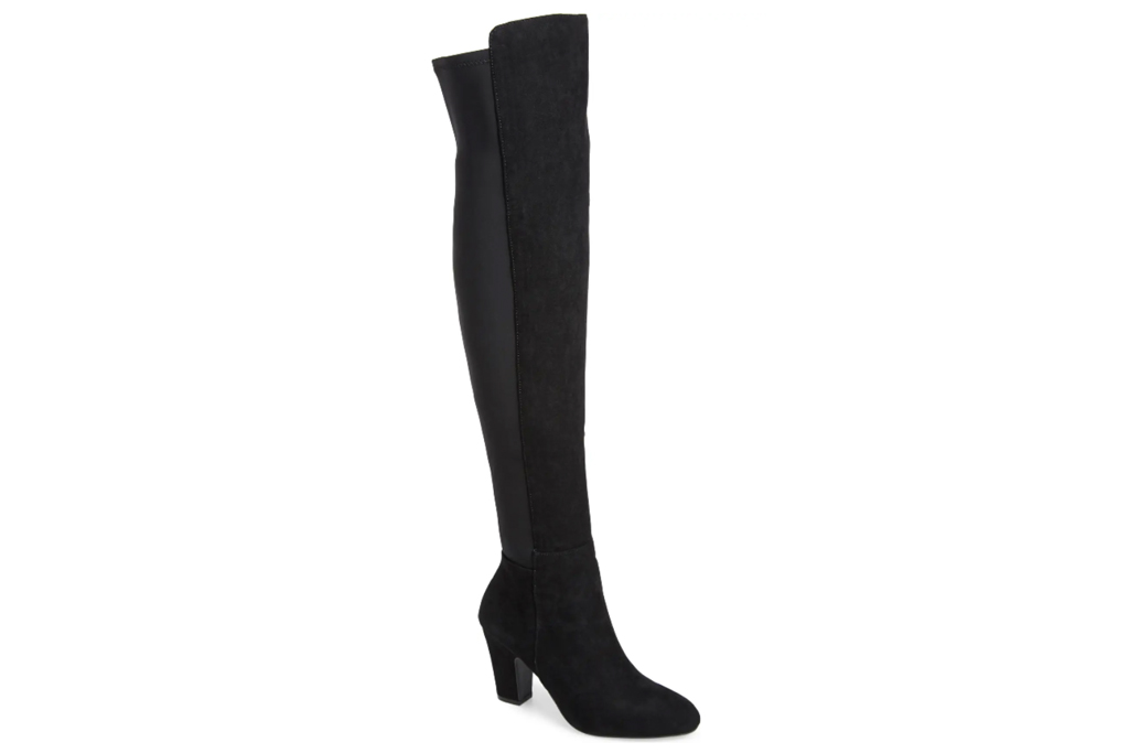 chinese laundry, thigh-high boots,