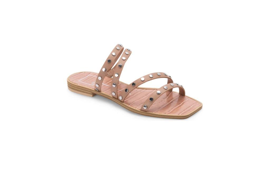 dolce vita, izabel stud slide sandal
