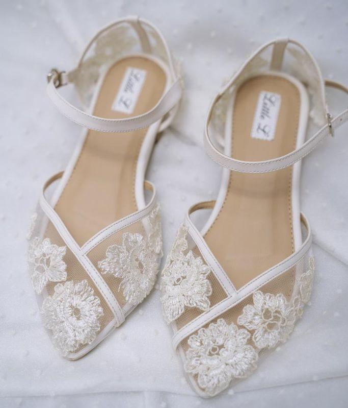 etsy tulle wedding flats, best flat wedding shoes