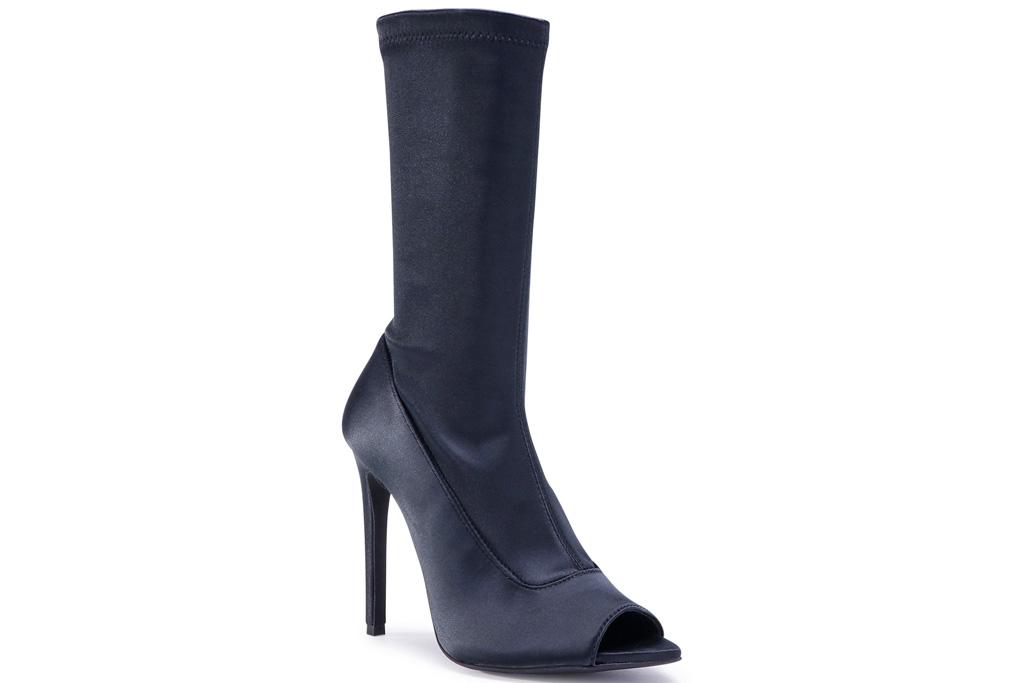 eva longoria, booties, heels