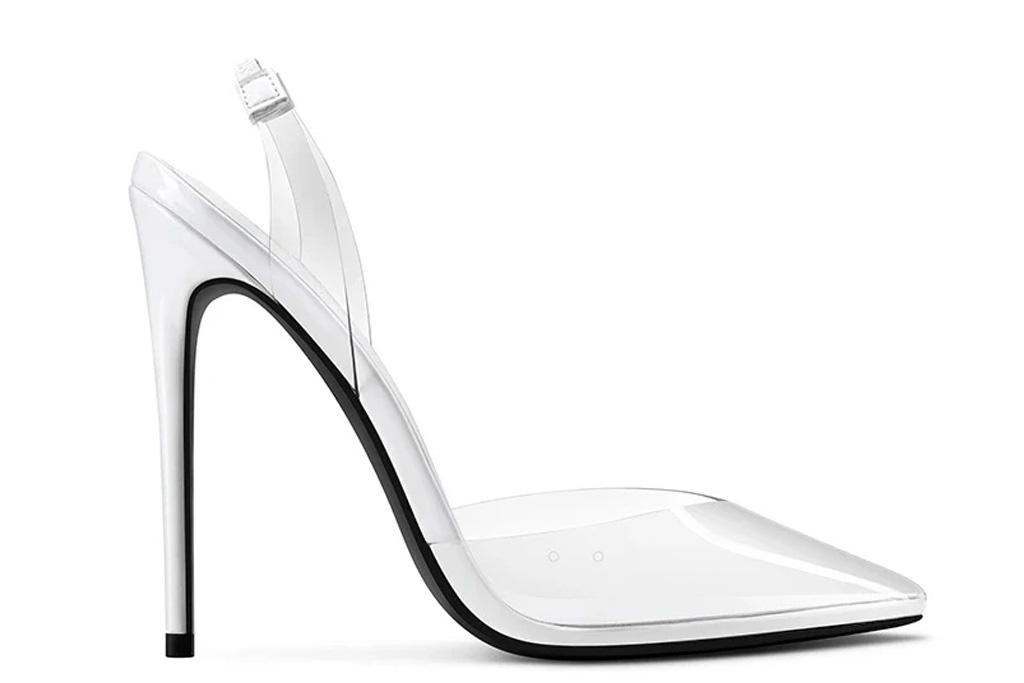 femme la, macallan, clear, heels