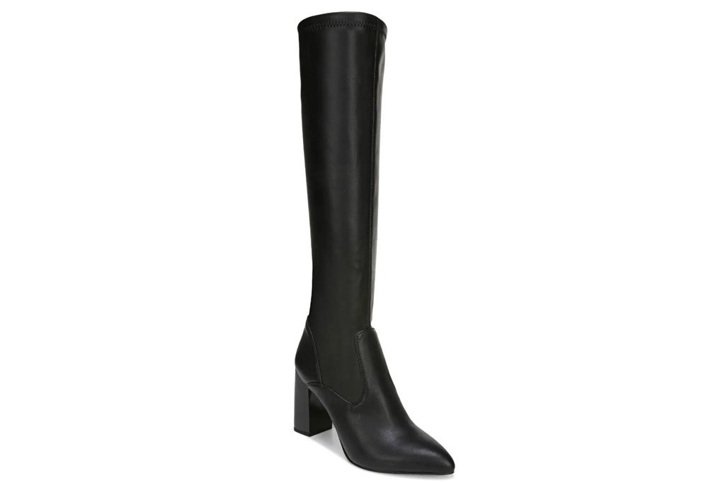 knee high boots, black, franco sarto