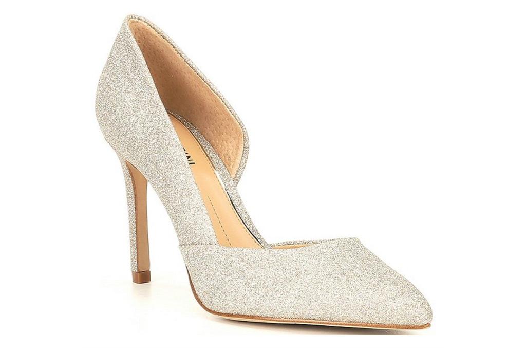 glittering heels, pumps, gianni bini