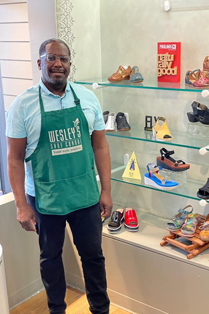 Wesley's Shoe Corral Bruce Wesley