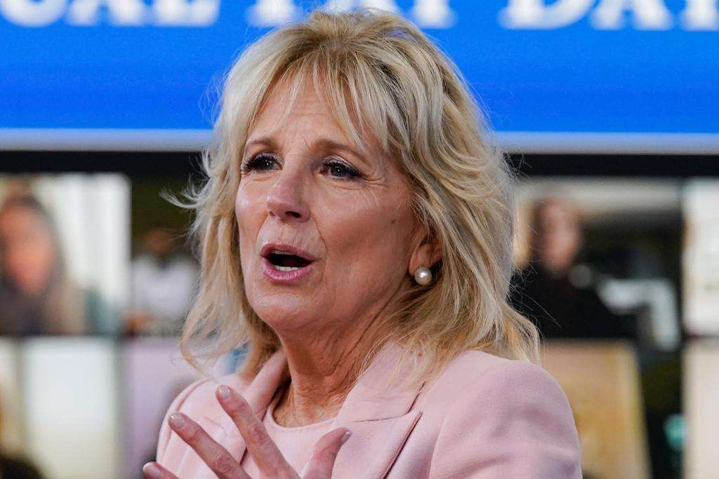 Jill Biden Wore Alexandra ONeill of Markarian on