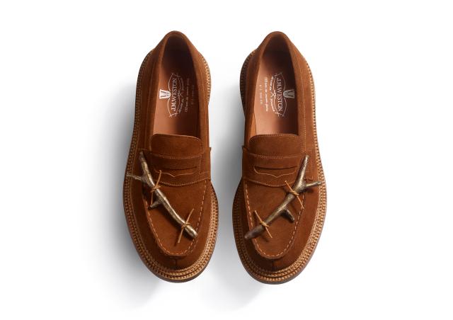 jm weston loafers, twig loafers, brown, tilda swinton shoes